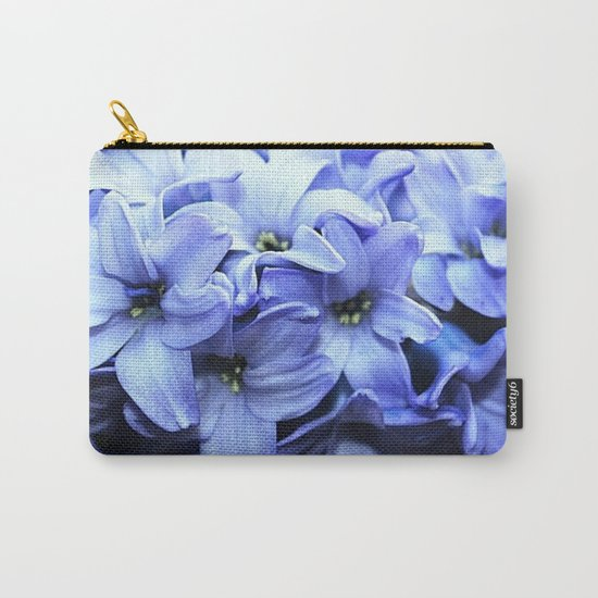 Fragrant Hyacinth Carry-All Pouch