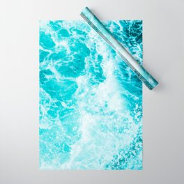 Perfect Sea Waves Wrapping Paper