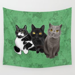 Poohkie, Mer, and Bart Wall Tapestry