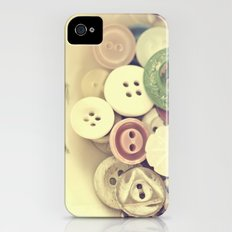 Buttons Slim Case iPhone (4, 4s)