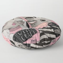 You Can Hex with Us Floor Pillow