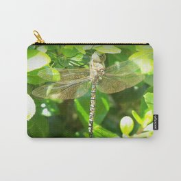 Stainglass Dragonfly Carry-All Pouch
