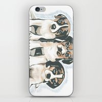 puppies iPhone & iPod Skins featuring Puppies 1 by JennFolds5 * Jennifer Delamar-Goss