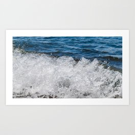 Bohol Sea Wave Art Print