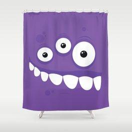 Psychos - Crazy Monsters (Purple) Shower Curtain