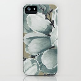 Spring Tulips Neutral  iPhone Case