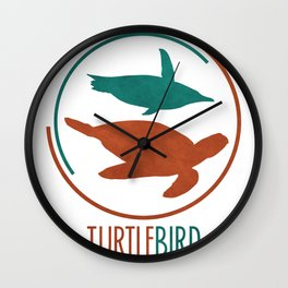 TurtleBird Logo Wall Clock