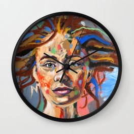 Finding Calm in the Choas Wall Clock