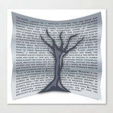 Treevile Canvas Print