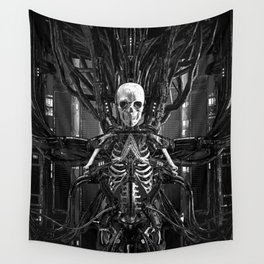 The Quantum Reaper Wall Tapestry