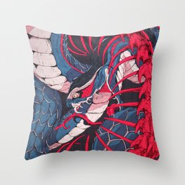 Ouroboros Throw Pillow