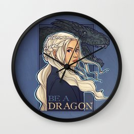 You're a Dragon Wall Clock