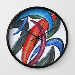 Art Doodle No. 10 Wall Clock