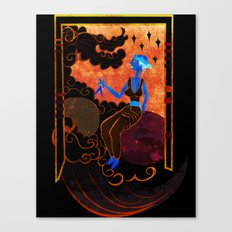 Muse of Astronomy  Canvas Print