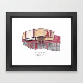 The Austin Collection: Alamo Drafthouse Framed Art Print