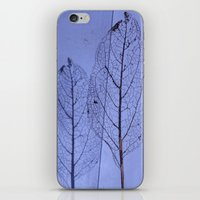 leaf iPhone & iPod Skins featuring leaf by Bunny Noir