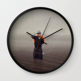 Where Have You Gone Without Me Wall Clock