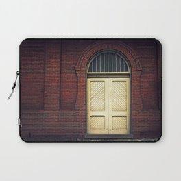 Railroad Museum Door Laptop Sleeve