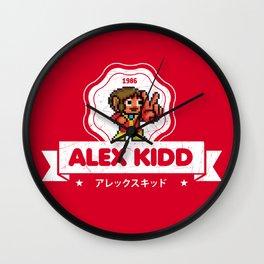 Alex Kidd Wall Clock