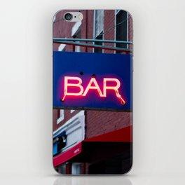 Bar iPhone Skin