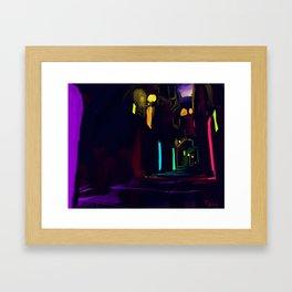 The Passage way Framed Art Print