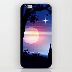 Roter Horizont. iPhone & iPod Skin
