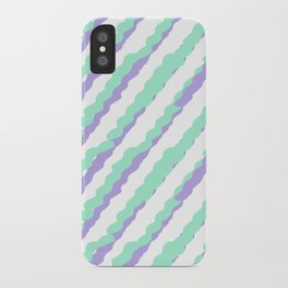 Green Drops of Time iPhone Case