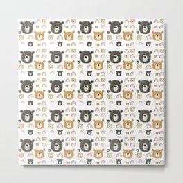 cute bears Metal Print
