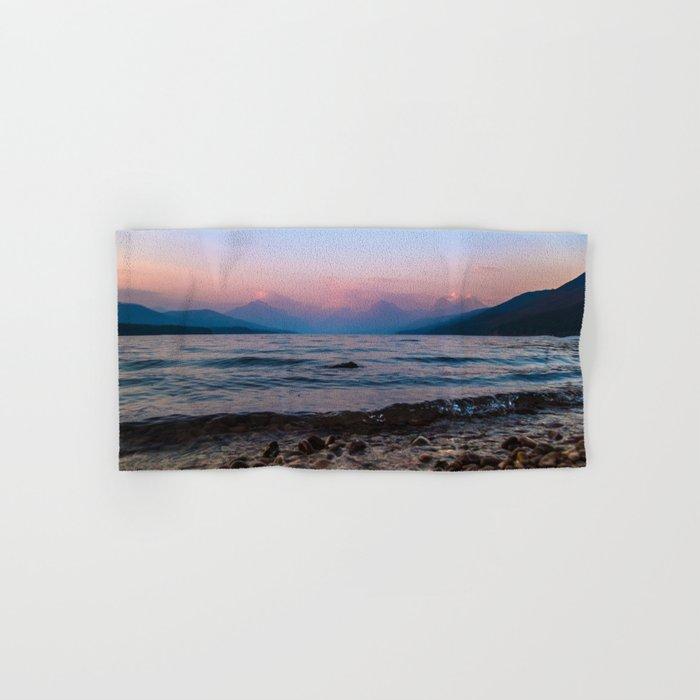 Lake At Dusk Hand & Bath Towel