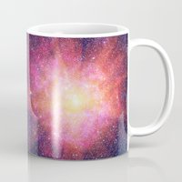 interstellar Mugs featuring Interstellar Nebula by Space99