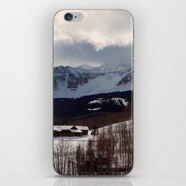 Telluride Mountains iPhone Skin