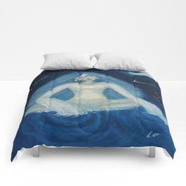 Silence by Lu Comforters