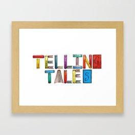 Telling Tales Framed Art Print