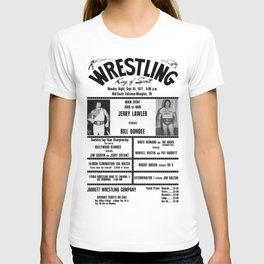 #6 Memphis Wrestling Window Card T-shirt