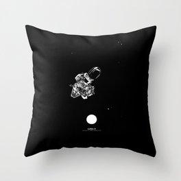 LUNA 9 Throw Pillow