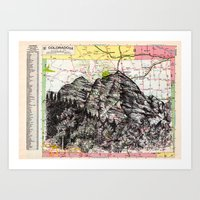 colorado Art Prints featuring Colorado by Ursula Rodgers