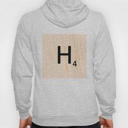 Scrabble Letter H - Large Scrabble Tiles Hoody