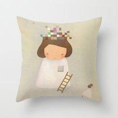 PIECE TO PEACE Throw Pillow