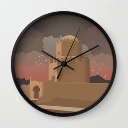 Methoni, The Venetian Castle (GR) Wall Clock