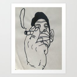 Orson Art Print