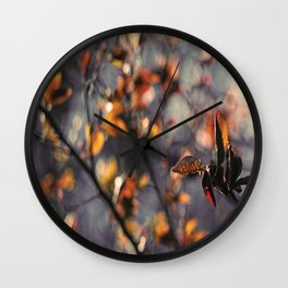 Spring Feelings Wall Clock
