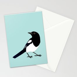 Magpie vector Stationery Cards