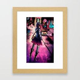 Market Laced Framed Art Print