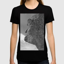 SHAPE OF A FACE STONE T-shirt
