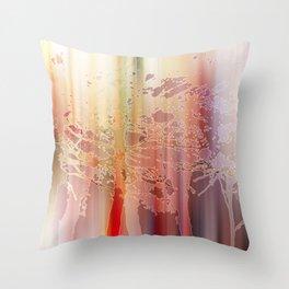 Golden trees - Eden Collection Throw Pillow