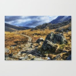 Glyderau Mountains Canvas Print
