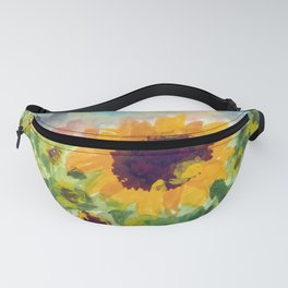 Sunflower Sunset Fanny Pack