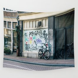 Streets of Amsterdam Wall Tapestry