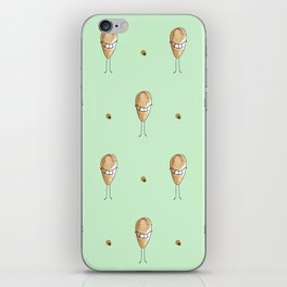Smiley face iPhone Skin