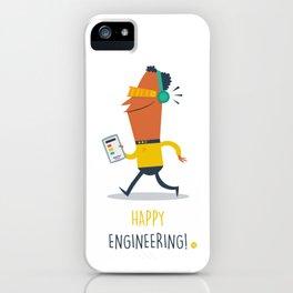 Happy Engineering iPhone Case